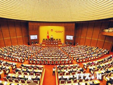 Toàn cảnh phiên khai mạc kỳ họp thứ 4 của Quốc hội khóa XIV