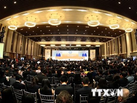 Toàn cảnh khai mạc Hội nghị Thượng đỉnh Doanh nghiệp APEC