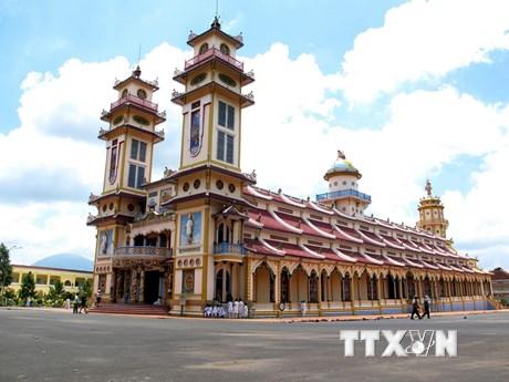 Tòa Thánh Cao Đài Tây Ninh - điểm đến du lịch tôn giáo hấp dẫn