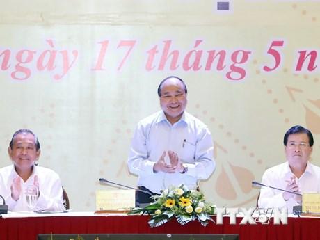 Thủ tướng dự hội nghị tổng kết ổn định đời sống 4 tỉnh miền Trung