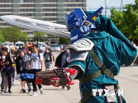 Cuốn hút lễ hội hóa trang hoạt hình Nhật Bản Anime ở Canada