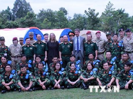 Lực lượng mũ nồi xanh Việt Nam sẵn sàng vươn ra biển lớn