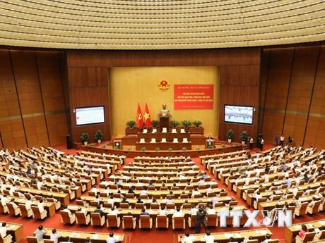 Toàn cảnh Hội nghị Cán bộ học tập, quán triệt Nghị quyết TW 7