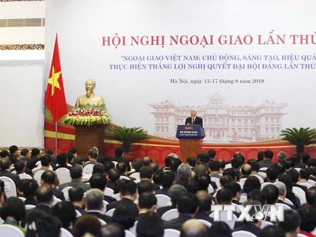 Toàn cảnh phiên khai mạc Hội nghị Ngoại giao lần thứ 30