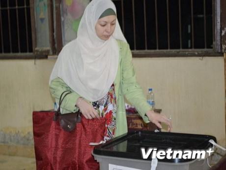 [Photo] Bầu cử tổng thống Ai Cập kết thúc sau 3 ngày bỏ phiếu