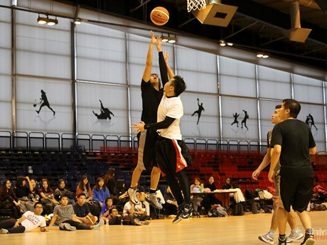 [Photo] Ấn tượng giải bóng rổ 3x3 PBT của người Việt tại Paris