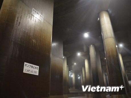 [Photo] Hệ thống thoát nước ngầm hùng vĩ gần thủ đô Tokyo