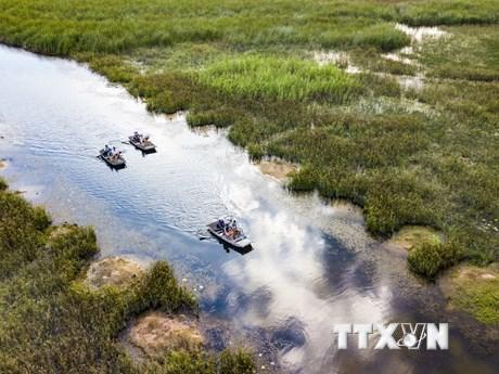 [Photo] Khu bảo tồn thiên nhiên đất ngập nước Vân Long