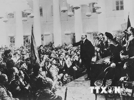 [Photo] Cách mạng tháng Mười Nga, dấu mốc của lịch sử nhân loại