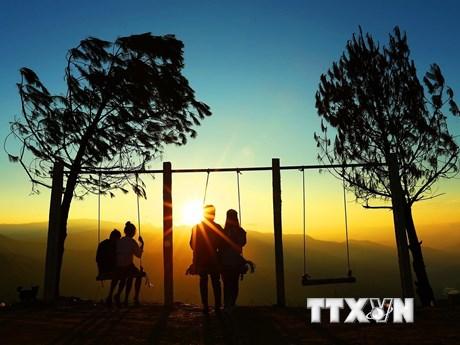 [Photo] Đèo Pha Đin - một trong tứ đại đỉnh đèo nổi tiếng Tây Bắc