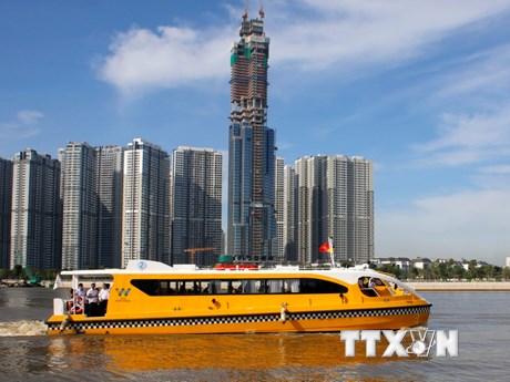 [Photo] Tuyến buýt đường sông số 1 tại Thành phố Hồ Chí Minh