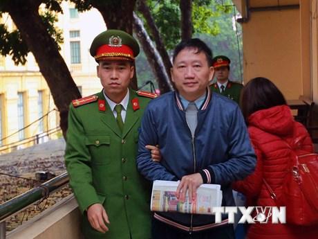 [Photo] Ngày làm việc thứ hai phiên xử Trịnh Xuân Thanh và đồng phạm