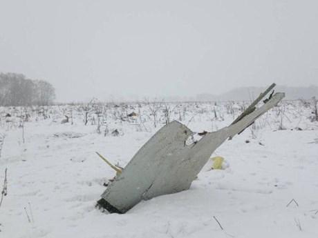 [Photo] Hiện trường vụ rơi máy bay Nga làm 71 người thiệt mạng