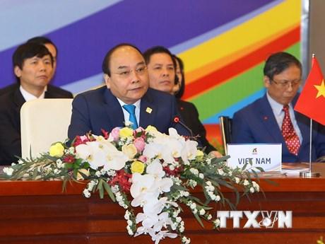 [Photo] Phiên họp kín của các lãnh đạo Tiểu vùng Mekong mở rộng
