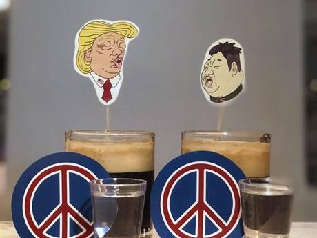 Những món ăn độc đáo mang tên Trump-Kim tại Singapore
