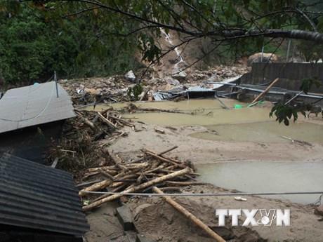 MTTQ thăm hỏi người dân các tỉnh miền Bắc bị thiệt hại do mưa lũ