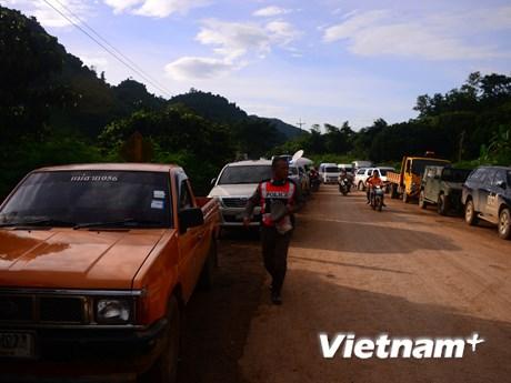 Hình ảnh bên trong 'trung tâm' cứu hộ đội bóng mắc kẹt tại Thái Lan