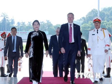 Chủ tịch Hạ viện Australia Tony Smith thăm chính thức Việt Nam