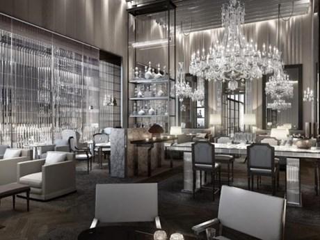 Khách sạn pha lê sang trọng đầu tiên của Baccarat ở New York