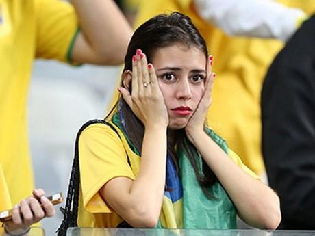 [Photo] Cả Brazil rơi lệ khi chứng kiến thất bại của đội nhà