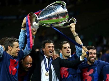 Barca vô địch Cup C1: Hãy trao vương miện cho Lucho!