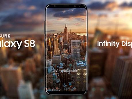 Những hình ảnh về mẫu Samsung Galaxy S8 liên tục bị rò rỉ