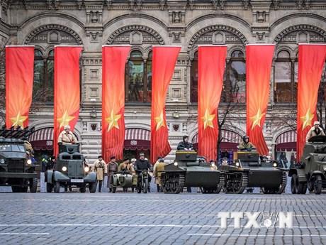 [Photo] Nga tái diễn cuộc duyệt binh năm 1941 tại Quảng trường Đỏ