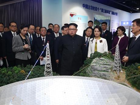 [Photo] Hình ảnh về chuyến thăm Trung Quốc của ông Kim Jong-un