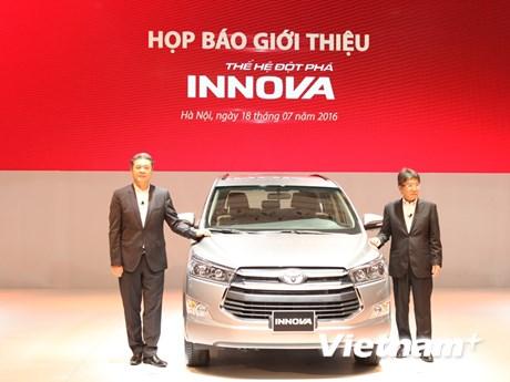[Photo] Cận cảnh phiên bản Innova 2016 mới tại Việt Nam