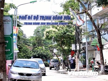 Cận cảnh phố đi bộ Trịnh Công Sơn trước giờ đưa vào khai trương