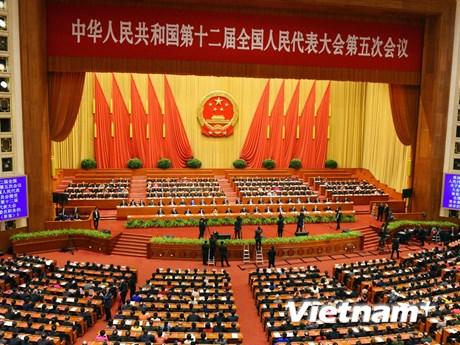 [Photo] Trung Quốc bế mạc kỳ họp thứ 5 Quốc hội khóa XII