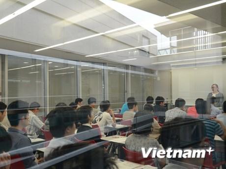 [Photo] Kỳ thi năng lực tiếng Việt đầu tiên dành cho thí sinh Nhật Bản
