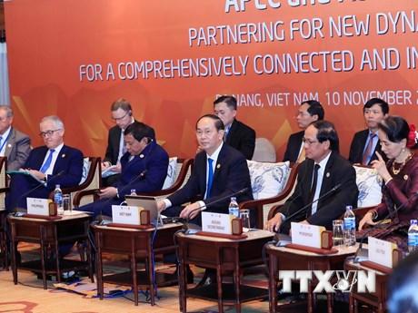[Photo] Hội nghị Đối thoại Cấp cao không chính thức giữa APEC-ASEAN