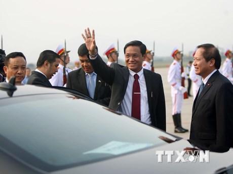 [Photo] Phó Tổng thống Myanmar U Henry Van Thio dự Hội nghị GMS6