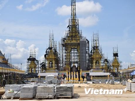 [Photo] Thái Lan chuẩn bị lễ hỏa táng Nhà vua Bhumibol Abdulyadej