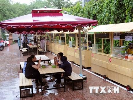[Photo] TP.HCM khai trương phố ẩm thực hàng rong thứ hai