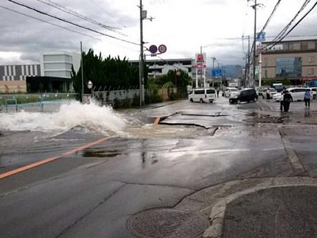 [Photo] Động đất mạnh tại Nhật Bản gây nhiều thiệt hại