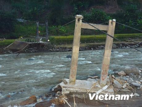 [Photo] Yên Bái tan hoang, thiệt hại nặng nề sau cơn lũ dữ