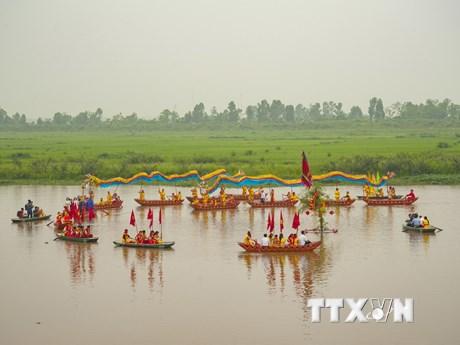 [Photo] Lễ hội Hoa Lư 2018: Tưng bừng lễ rước nước cầu an