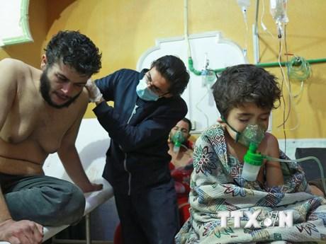 OPCW: Khí độc Clo được sử dụng tại thị trấn Douma của Syria