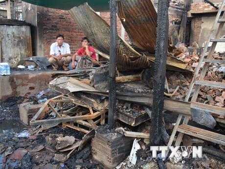 Điện thăm hỏi kiều bào tại Campuchia bị thiệt hại do hỏa hoạn