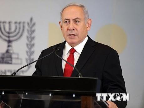 Thủ tướng Netanyahu thăm sở chỉ huy quân đội gần Dải Gaza