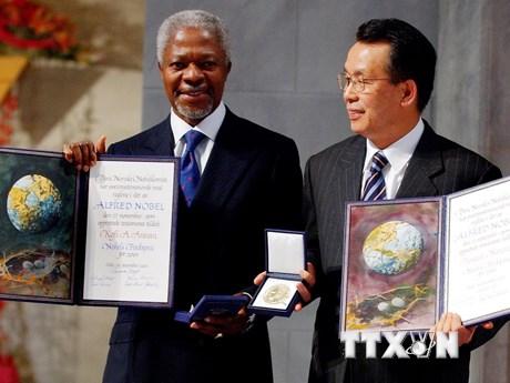 Những hình ảnh về cuộc đời Cựu Tổng Thư ký Liên hợp quốc Kofi Annan