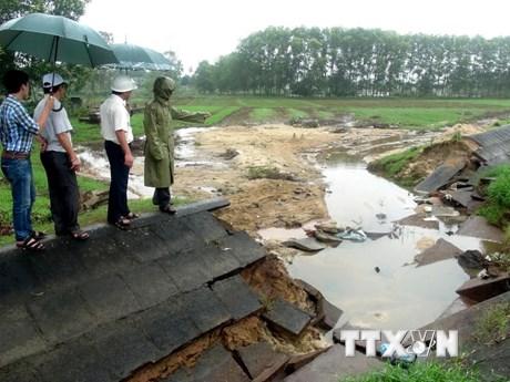 Hàng trăm hồ chứa nước ở bốn tỉnh Nam Trung Bộ bị xuống cấp, hư hỏng