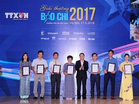 Giải báo chí TTXVN: Dấu ấn mới từ sự hợp tác thông tin toàn ngành