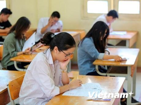 Trên 900.000 thí sinh bắt đầu dự thi trung học phổ thông quốc gia