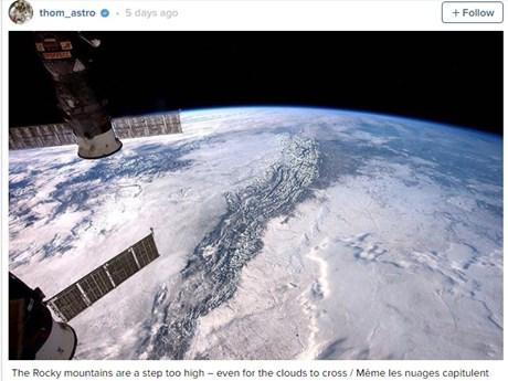 Vẻ đẹp mê hồn của Trái đất nhìn từ trạm vũ trụ quốc tế ISS