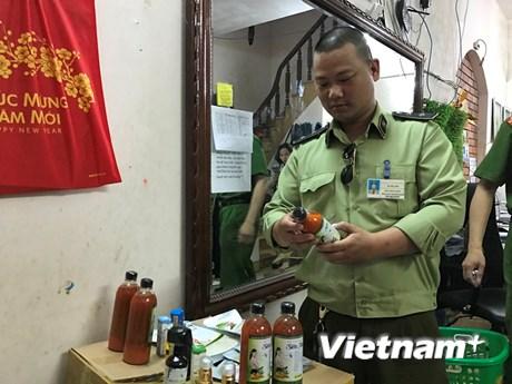 Cận cảnh lô sản phẩm đông dược không rõ nguồn gốc trên địa bàn Hà Nội