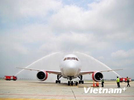 [Photo] Đường bay thẳng đầu tiên kết nối Việt Nam và Lục địa đen