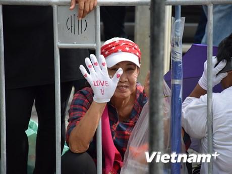 Hình ảnh bên ngoài Tòa án xét xử cựu Thủ tướng Yingluck Shinawatra